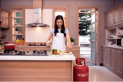 An toàn bếp